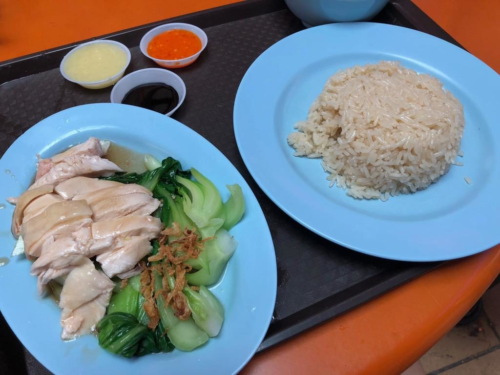 Tian Tian Maxwell Chicken Rice